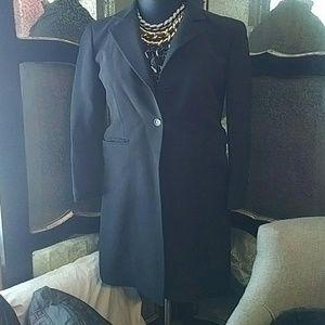 Dkny long trench coat style